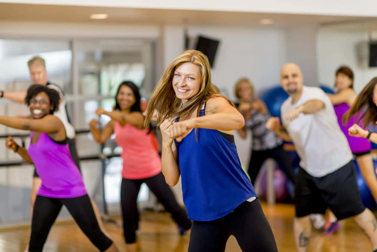 Group exercise is contagious at the YMCA of Bristol