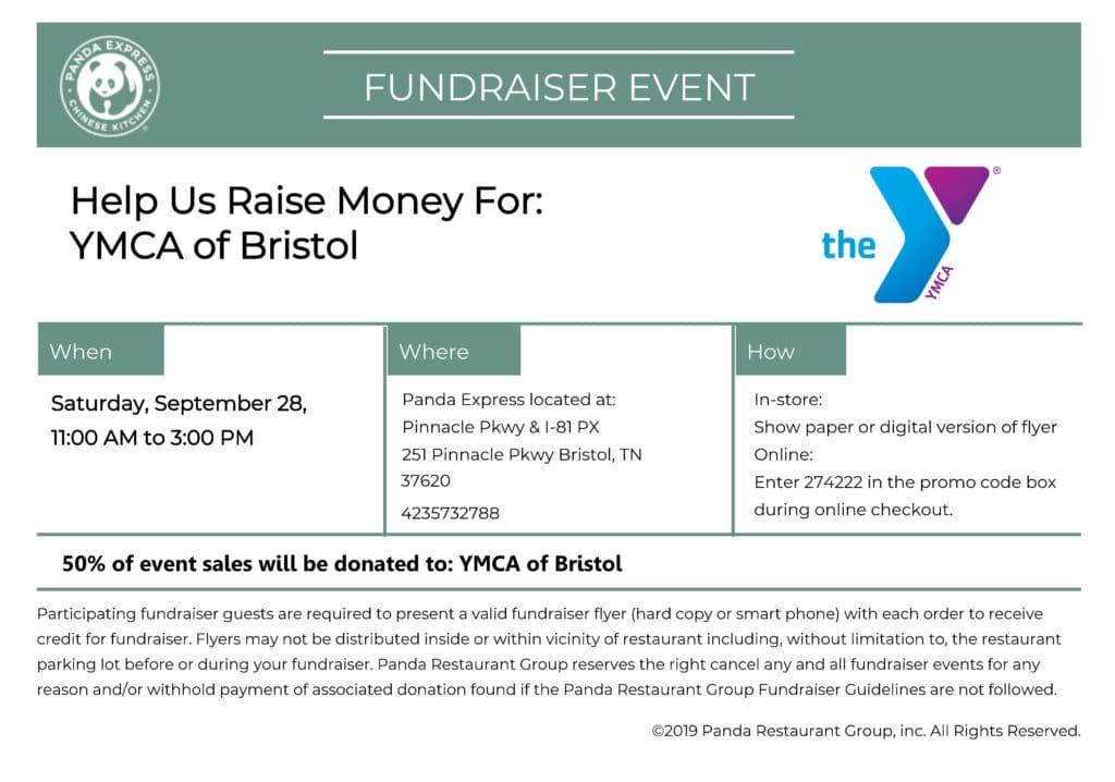 panda express fundraiser voucher