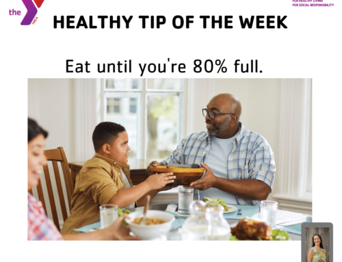 Eat until you're 80% full