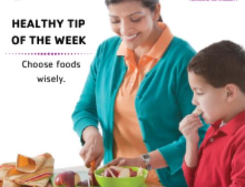 Choose foods wisely